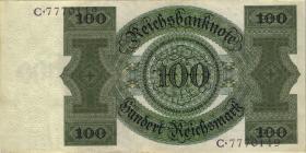 R.171a: 100 Reichsmark 1924 (1-)