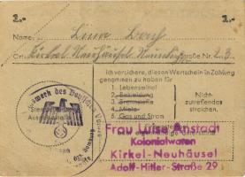 WHW-40 Winterhilfswerk 1 Reichsmark 1943/44 (1-)