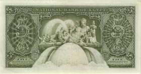 Ägypten / Egypt P.31c 5 Pounds 1959 (1)