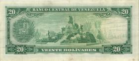 Venezuela P.46b 20 Bolivares 1968 (3)