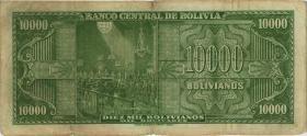 Bolivien / Bolivia P.146 10.000 Boliviano L. 1945 (4)
