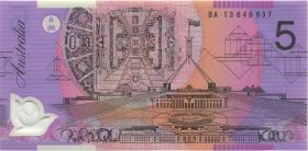 Australien / Australia P.57h 5 Dollars (20)13 BA 13 Polymer (1) first prefix