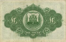 Gibraltar P.18a 1 Pound 1965 (3)
