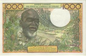 West-Afr.Staaten/West African States P.703Km 100 Francs (1959-65) Senegal (1)