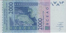West-Afr.Staaten/West African States P.316Cn 2000 Francs 2014 Burkina Faso (1)