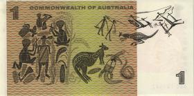 Australien / Australia P.37a 1 Dollar (1966) (1)