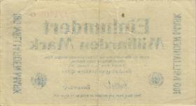 PS1234 Reichsbahn Frankfurt/Oder 100 Milliarden Mark 1923 (3)