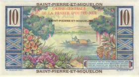 St. Pierre & Miquelon P.23 10 Francs o.D. (1)