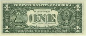 USA / United States P.449e 1 Dollar 1969 D (1)
