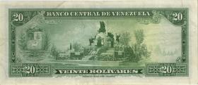 Venezuela P.52a 20 Bolivares 1971 (3)