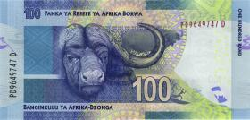 Südafrika / South Africa P.141b 100 Rand (2016) (1)