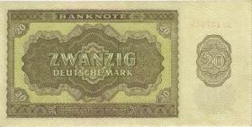 R.344c: 20 DM 1948 XJ Ersatznote (2)