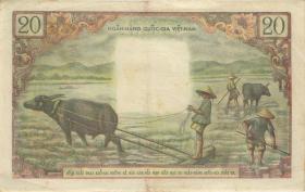 Südvietnam / Viet Nam South P.04 20 Dong (1956) (3)