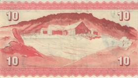 Färöer Inseln / Faeroe Is. P.14b 10 Kronen 1949 (1954) (3)