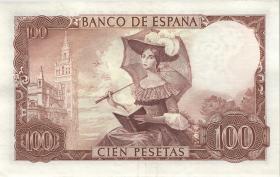 Spanien / Spain P.150 100 Pesetas 1965 (70) (2)