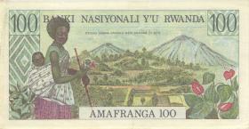 Ruanda / Rwanda P.12 100 Francs 1978 (2)