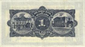 Schottland / Scotland P.324b 1 Pounds 1960 (3+)