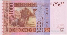 West Afrikanische Staaten / West African States P.715Kb 1.000 Francs 2004 (1)
