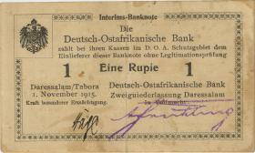 R.916h: 1 Rupie 1915 Q Handzeichen (2)