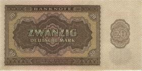 R.344b 20 DM 1948 6-stellig (2/1)