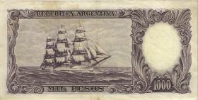 Argentinien / Argentina P.279b 1.000 Peso (1966-69) (3)