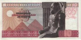 Ägypten / Egypt P.46b 10 Pounds 1974 (1)