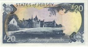 Jersey P.29 20 Pounds (2000) MC 000099 (1)