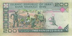Iran P.136d 200 Rials (ab 1982) (1)