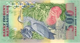 Madagaskar P.72Aa 2500 Francs = 500 Ariary (1995) (1)