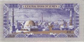 Jemen / Yemen arabische Rep. P.19a 20 Rials (1985) (1)