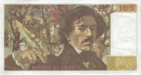 Frankreich / France P.154b 100 Francs 1984 (3+)