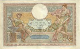 Frankreich / France P.078c 100 Francs 1933 (3+)