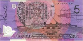 Australien / Australia P.57g 5 Dollars (20)12 EA 12 Polymer (1) last prefix