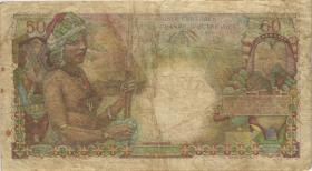 Frz.-Äquatorialafrika / F.Equatorial Africa P.23 50 Francs (1947) (4)