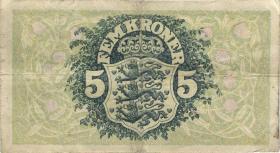 Dänemark / Denmark P.30e 5 Kroner 1940 G (3)