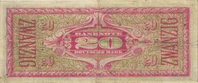 R.246aF 20 DM (1948) Liberty (3+)
