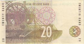 Südafrika / South Africa P.124a 20 Rand (1993) (3)