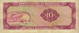 Nicaragua P.123 10 Cordobas 1972 (3)