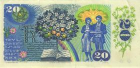 Tschechoslowakei / Czechoslovakia P.095 20 Kronen 1988 (2)