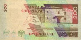 Albanien / Albania P.59 200 Leke 1996 (2)