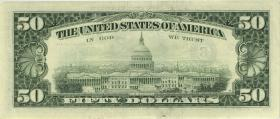 USA / United States P.494 50 Dollars 1993 (2)