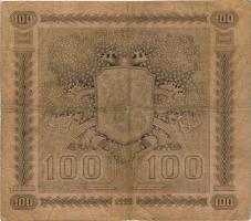Finnland / Finland P.065 100 Markkaa 1922 (1941-44) (4)