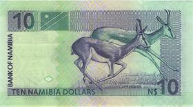 Namibia P.04c 10 Dollars (2001) Serie B (1)