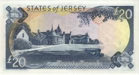 Jersey P.29 20 Pounds (2000) KC 000099 (1)