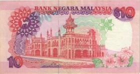 Malaysia P.38 10 Ringgit (1995) (3+)