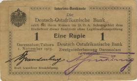 R.917b: 1 Rupie 1915 C Brandenburg (3+)