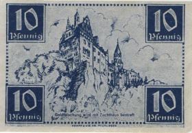 R.215a: Württemberg 10 Pf. 1947 D (1)