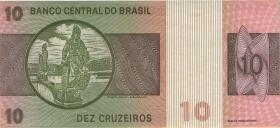 Brasilien / Brazil P.193d 10 Cruzeiros (1980) (1)