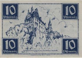 R.215a: Württemberg 10 Pf. 1947 C (1)