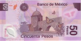 Mexiko / Mexico P.123f 50 Pesos 22.11.2006 Polymer (1)